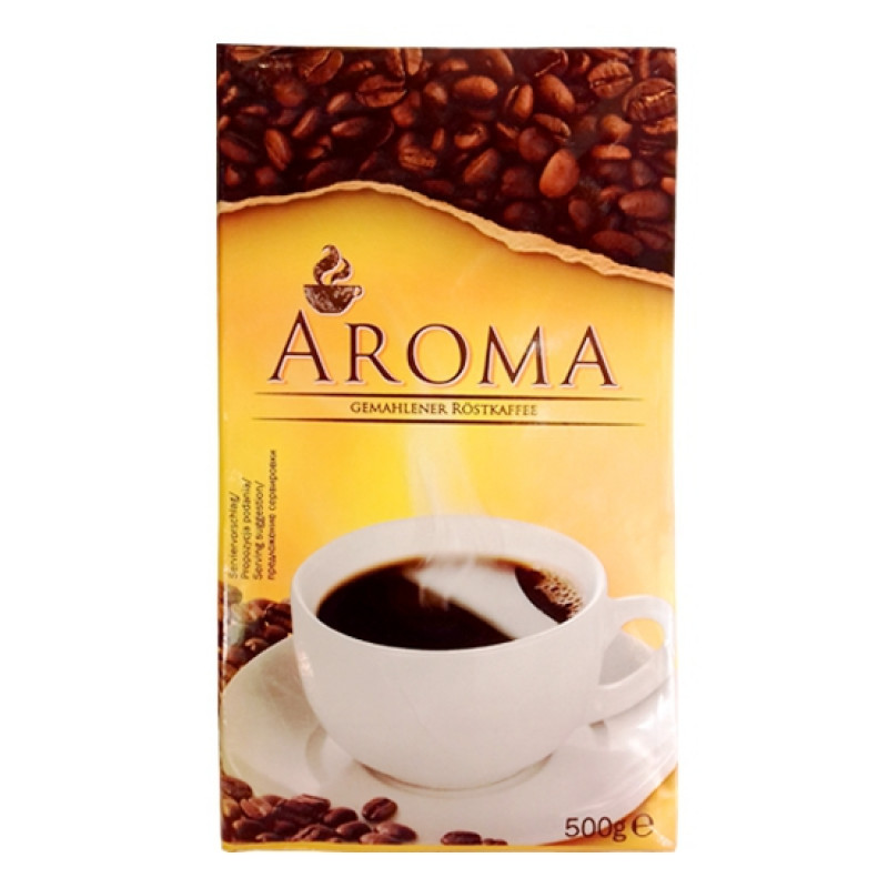 Aroma – natural roasted ground coffee