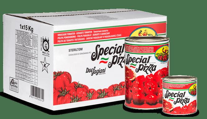 Polpo di pomidoro, ТМ Steriltom – tomato pulp