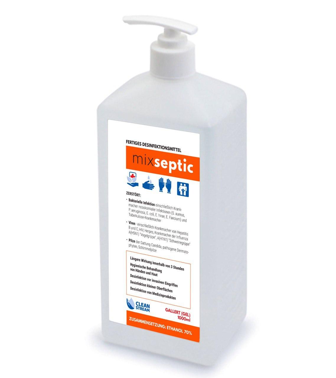 Особисте: Mixseptic & Clean Stream